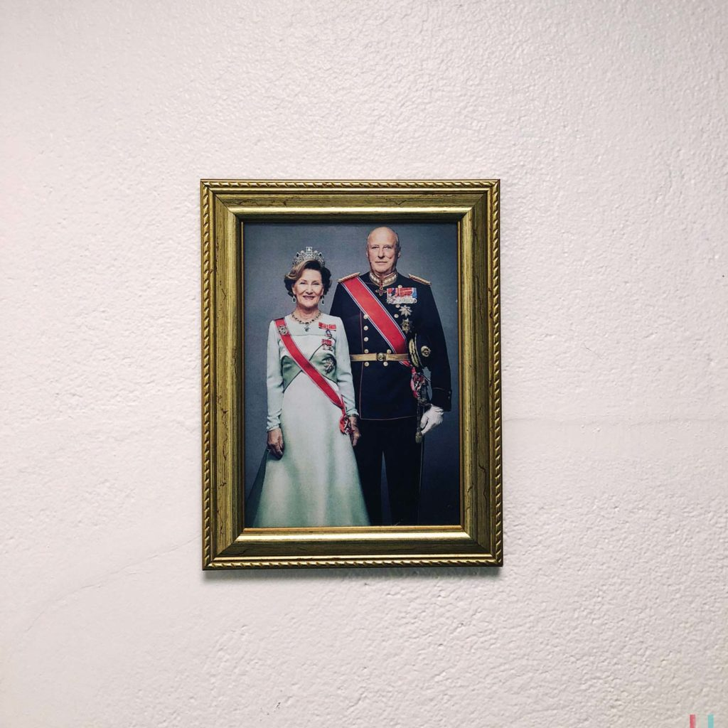 Winter Whale Watching in Norway: A picture of The Royals somewhere in Andenes.